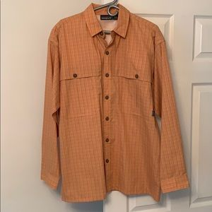 Patagonia vented long sleeve button down